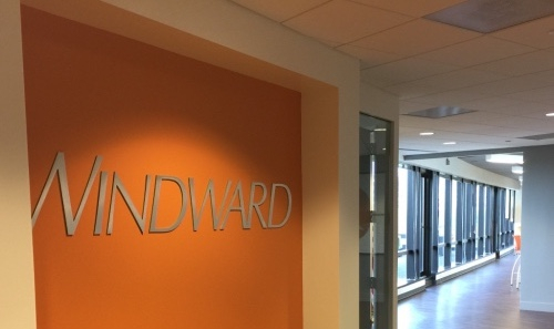 Windward wall sign