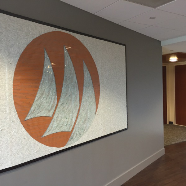 Windward logo painting