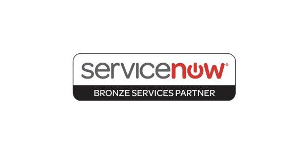 Servicenow bronze services partner logo