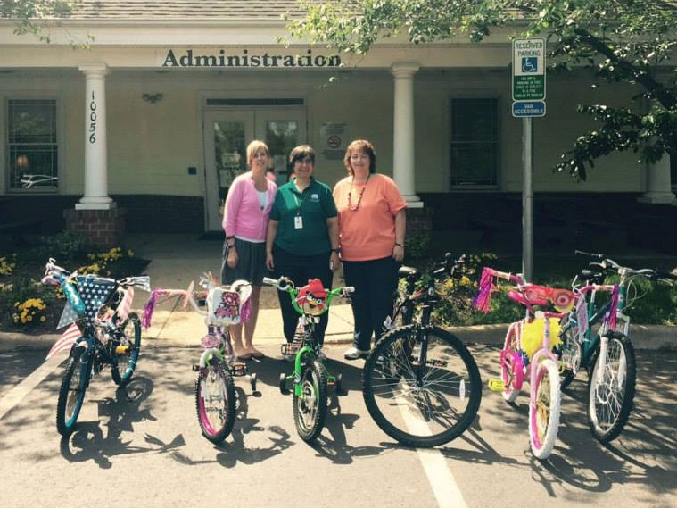 Bicycle Donation to Shelter