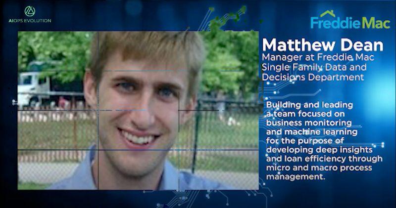 video screencap of Matthew Dean